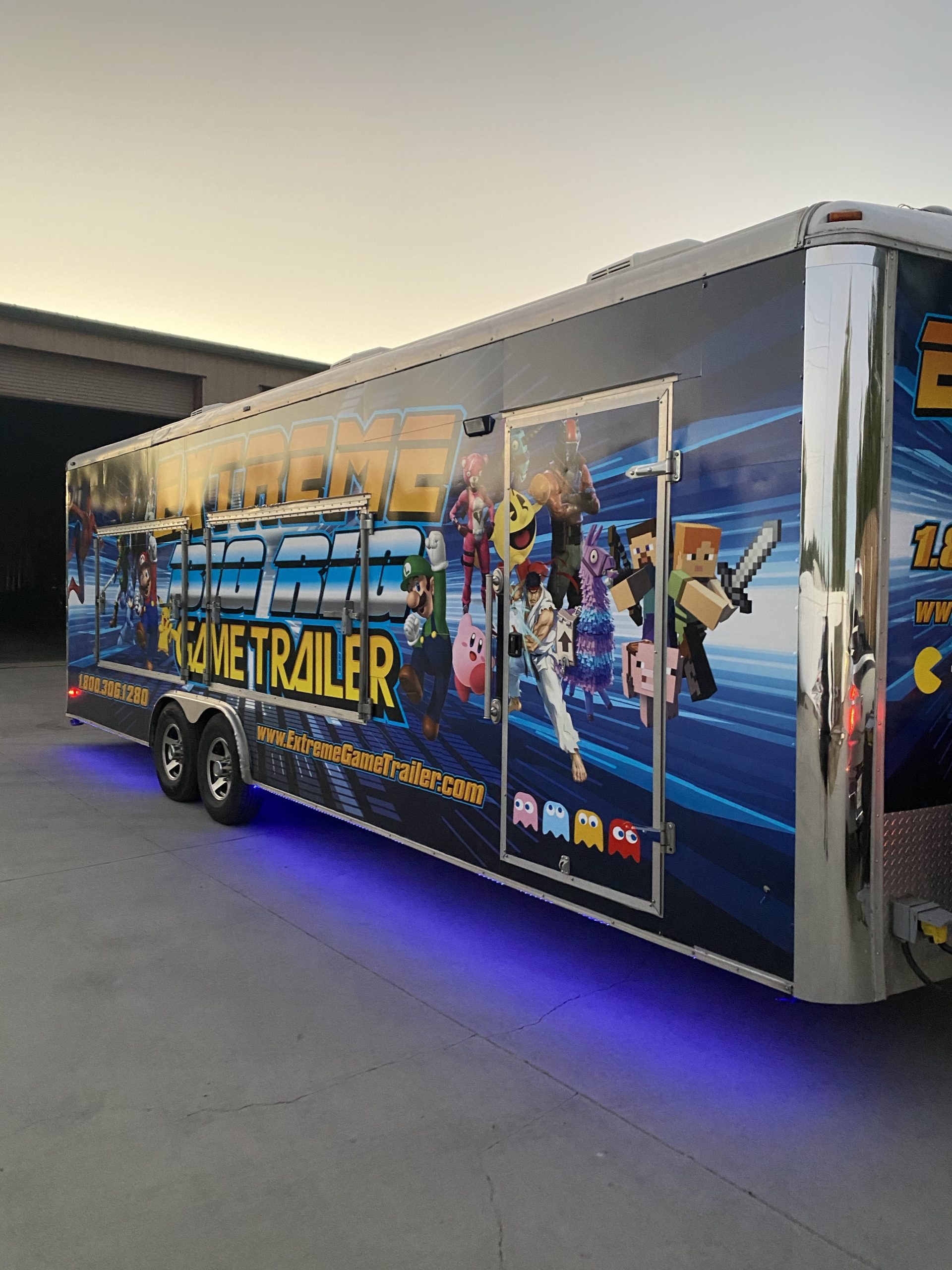 extreme game trailer big rig